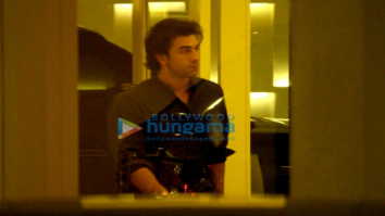 Ranbir Kapoor, Aditya Roy Kapur and Varun Dhawan snapped post dinner at Karan Johar's house