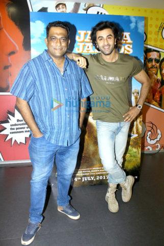 Ranbir Kapoor and Anurag Basu promote Jagga Jasoos