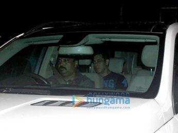 Salman Khan, Iulia Vantur and the Khan family at Sohail Khan's son's birthday bash