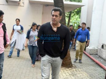 Salman Khan snapped during Tubelight promotions
