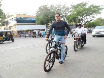 Salman Khan snapped during his film Tubelight's promotions