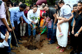 Sanjay Dutt graces the tree plantation drive by Asif Bhamla Foundation