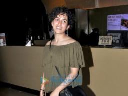 Sanya Malhotra snapped at PVR Juhu