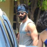 Shahid Kapoor, Mira Rajput, Kareena Kapoor Khan and Amrita Arora snapped at the gym