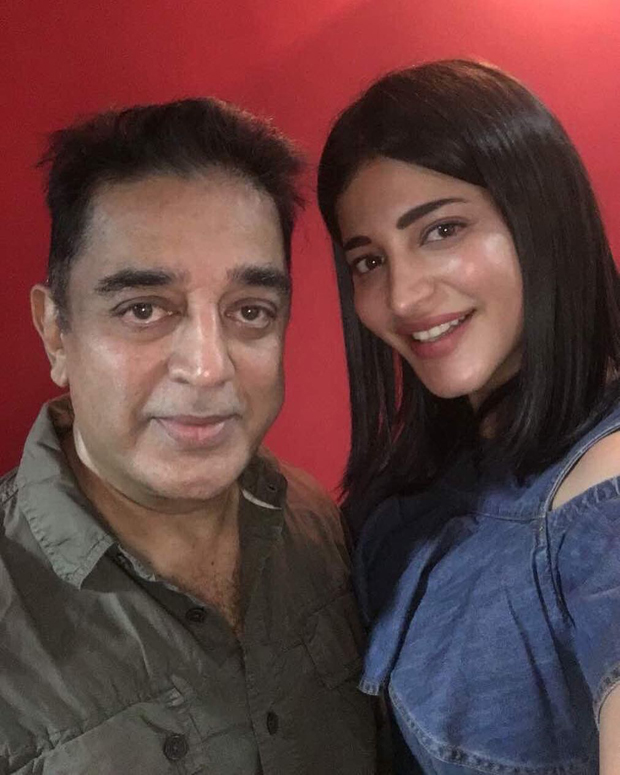 This Video Of Shruti Haasan Jamming With Father Kamal: CLICKED: Shruti Haasan Clicked With Superstar Father Kamal