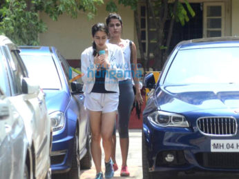 Sohail Khan, Sara Ali Khan, Rhea Chakraborty and Sooraj Pancholi snapped at the gym