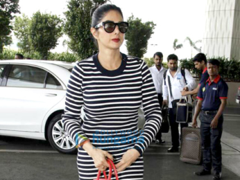 Sridevi and Ileana D'Cruz snapped at the airport