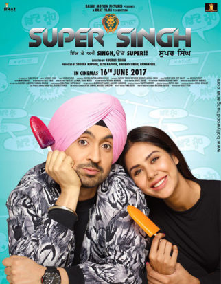 First Look Of The Movie Super Singh (Punjabi)