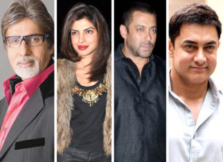 The Academy of Motion Pictures invites Amitabh Bachchan, Priyanka Chopra, Salman Khan and Aamir Khan. FIND OUT FOR WHAT!