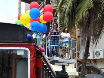 Tiger Shroff and Nidhhi Agerwal launch the song 'Ding Dang' from 'Munna Michael'