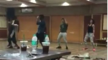 WATCH Varun Dhawan, Taapsee Pannu and Jacqueline Fernandez rehearse for 'Tan Tana Tan' song in Judwaa 2
