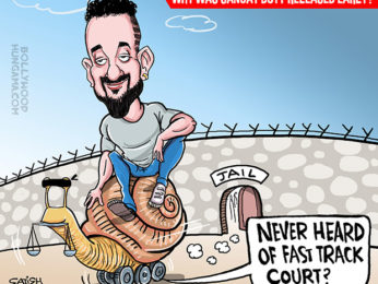 Why was Sanjay Dutt released early