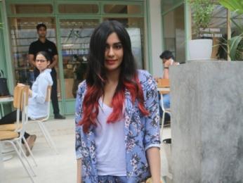 Adah Sharma snapped at Kitchen Garden