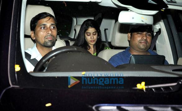 Alia Bhatt, Jahnavi Kapoor, Sridevi and others snapped at Kromakay salon