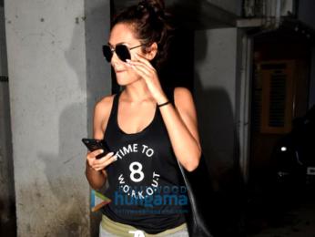 The gorgeous Esha Gupta snapped in Bandra