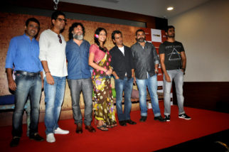 Nawazuddin Siddiqui and Divya Dutta grace the first look launch of 'Babumoshai Bandookbaaz'