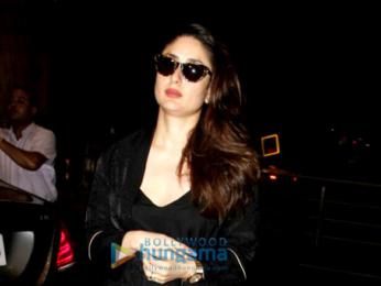 Kareena Kapoor Khan, Diana Penty, Sonam Kapoor, Kriti Sanon and Ayesha Takia Azmi at the airport