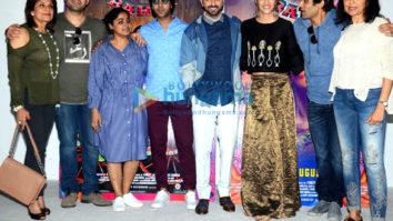 Kriti Sanon celebrates her birthday at 'Bareilly Ki Barfi' promotion with the cast and media