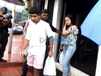 Mira Rajput snapped post lunch at Bastian