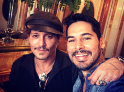 OMG! Dino Morea had a fan moment meeting Pirates of The Caribbean star Johnny Depp1