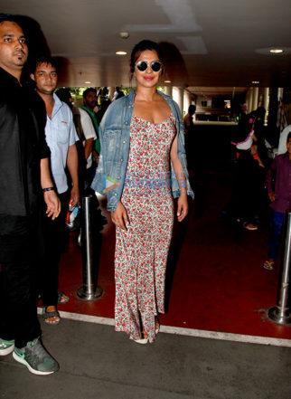 Priyanka Chopra and Diana Penty snapped at the airport