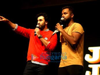Ranbir Kapoor promotes 'Jagga Jasoos' as he interacts with kids