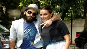 Ranveer Singh shoots with Neha Dhupia