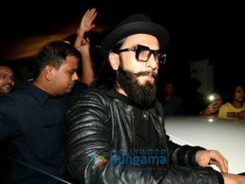 Ranveer Singh snapped at Otters Club in Bandra