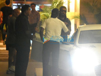 Ranveer Singh snapped post his gym session in Bandra