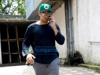 Saif Ali Khan and Sidharth Malhotra snapped in Bandra