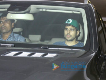 Sidharth Malhotra snapped at Karan Johar's house