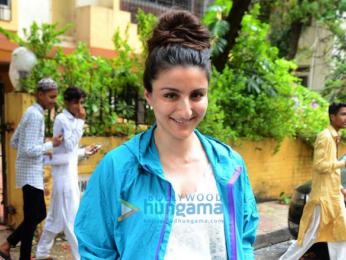 Soha Ali Khan snapped in Bandra