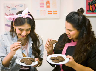 Sweet Saturday Sonam Kapoor indulges in some chocolate making with ace chef Pooja Dhingra