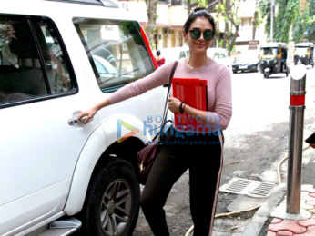 The gorgeous Aditi Rao Hydari snapped post her salon session in Bandra