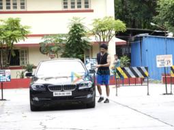 The hunky Aditya Roy Kapoor and the beautiful Rhea Chakraborty snapped at a gym