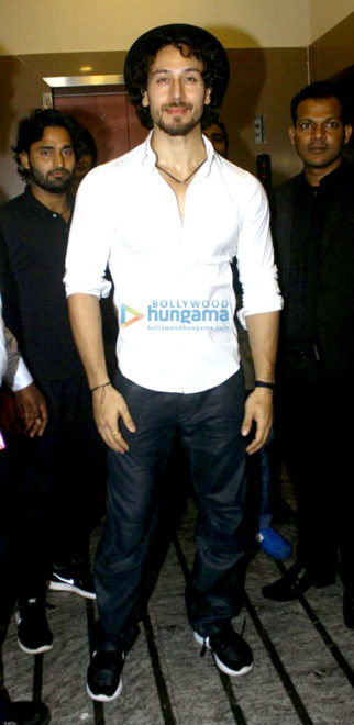 Tiger Shroff, Nidhhi Agerwal and others attend the screening of 'Munna Michael'