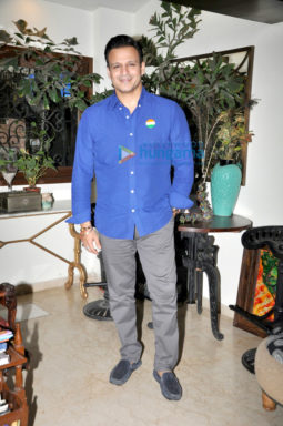 Vivek Oberoi at the media meet of 'Inside Edge'