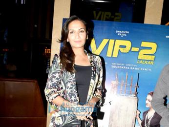 Dhanush and Soundarya Rajinikanth grace VIP 2 screening