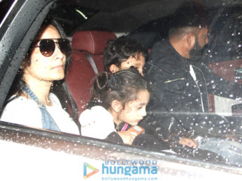 Sanjay Dutt, Anushka Sharma and Sidharth Malhotra at the airport