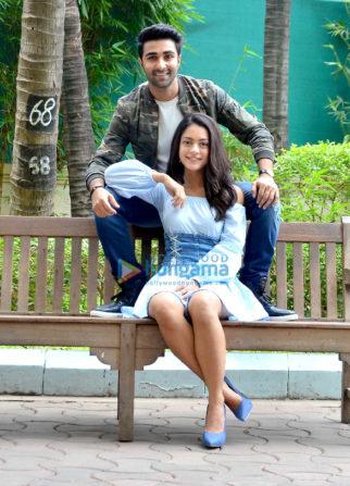Aadar Jain and Anya Singh at 'Qaidi Band' promotions