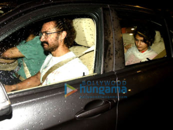 Aamir Khan, Fatima Sana Shaikh & Kiran Rao snapped post watching a play in Mumbai