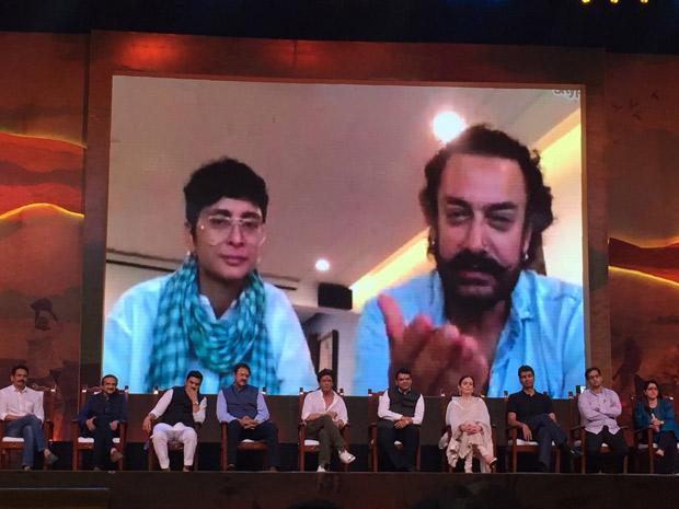 Aamir Khan, Kiran Rao down with swine flu; Shah Rukh Khan steps in at Water Cup event (2)