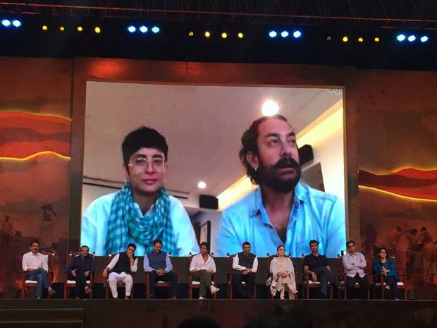 Aamir Khan, Kiran Rao down with swine flu; Shah Rukh Khan steps in at Water Cup event (3)
