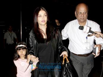 Aishwarya Rai Bachchan, John Abraham and Taapsee Pannu spotted at the airport