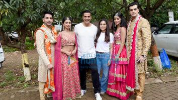 Akshay Kumar and Bhumi Pednekar promote their film 'Toilet – Ek Prem Katha' on Yeh Rishta Kya Kehlata Hai