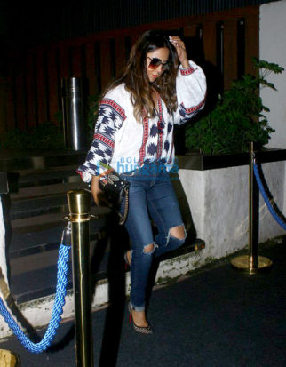 Alvira Agnihotri, Gauri Khan and others snapped post dinner at Arth, Bandra