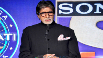 Amitabh Bachchan at the launch of 'Kaun Banega Crorepati 9'