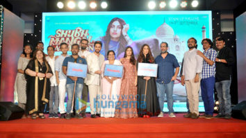 Ayushmann Khurrana and Bhumi Pednekar launch the first look of the film 'Shubh Mangal Saavdhan'