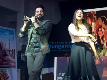 Ayushmann Khurrana and Bhumi Pednekar promote 'Shubh Mangal Saavdhan' at Poddar college