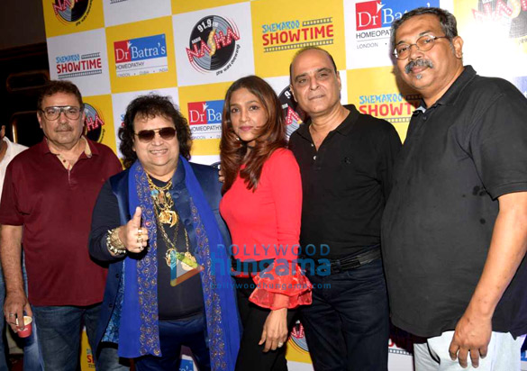 Bappi Lahiri attends Nasha Premier Nights